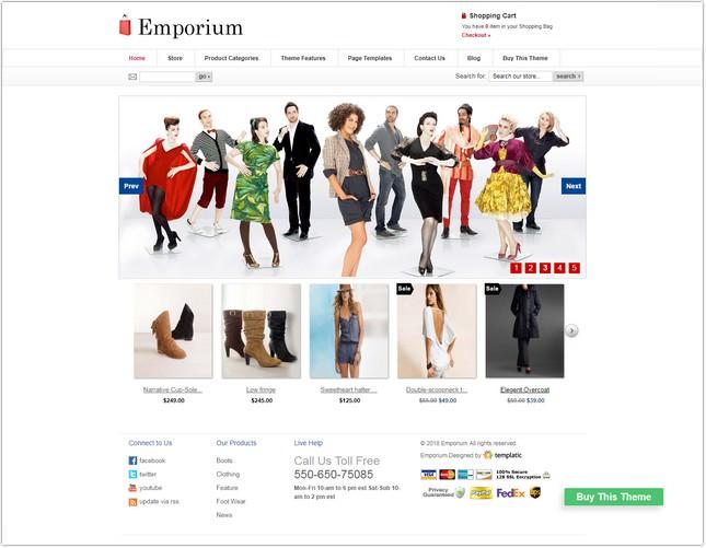 Emporium PHP Template