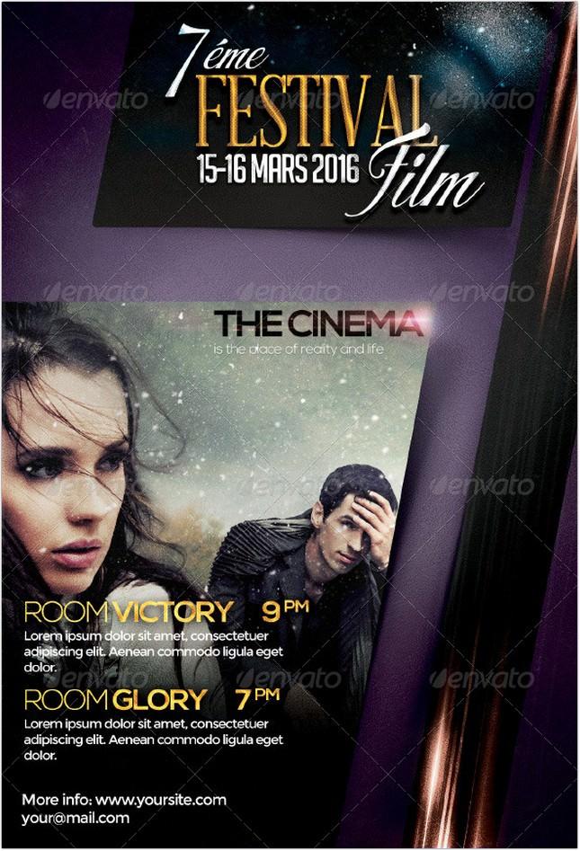 Festival Film Flyer Template