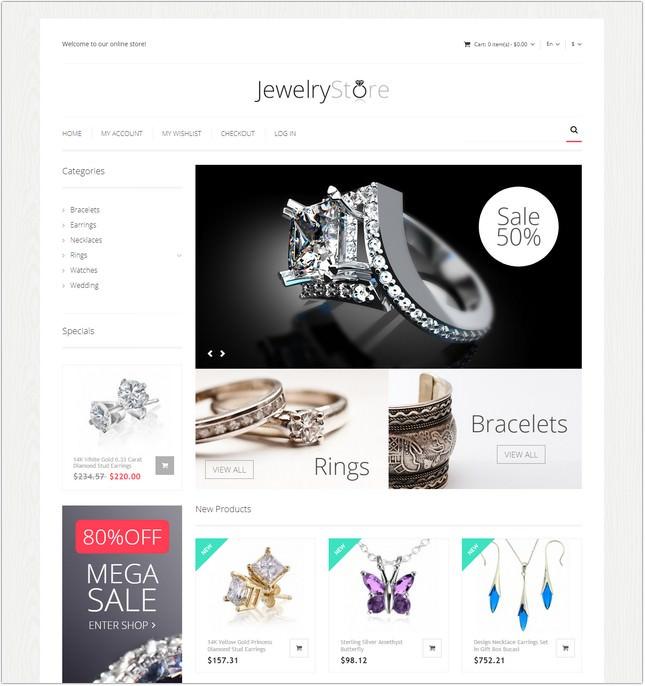 Fine Jewelry Magento Theme