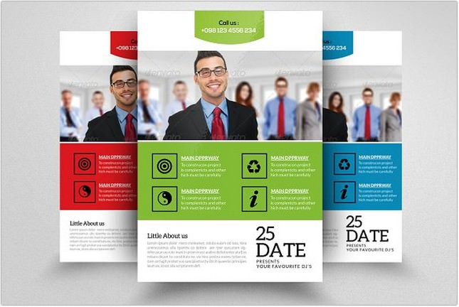 HR Consulting Business Flyer