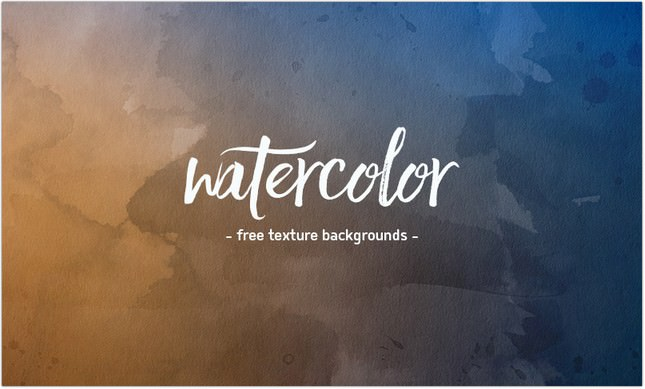 Hi-Res Watercolor Backgrounds