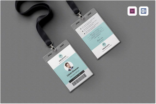 ID Card Print Template