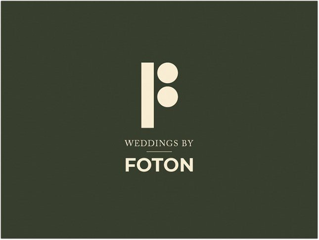 Identity design for Foton Wedding Photography