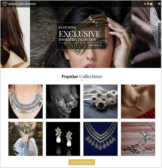 Jewellery eCommerce HTML Template