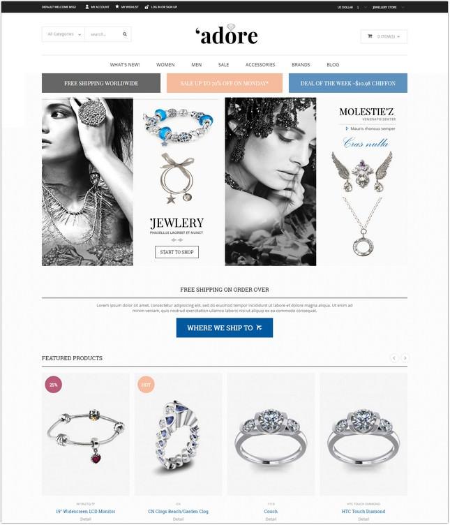 Jewelry - Magento Theme
