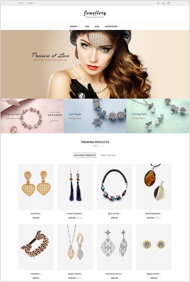 Jewelry Store - Prestashop Responsive Theme
