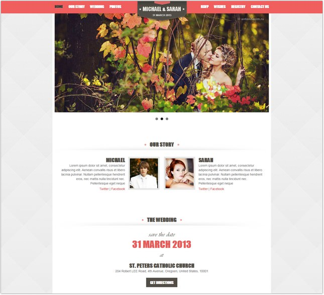 Kalyan Wedding Event PHP Template