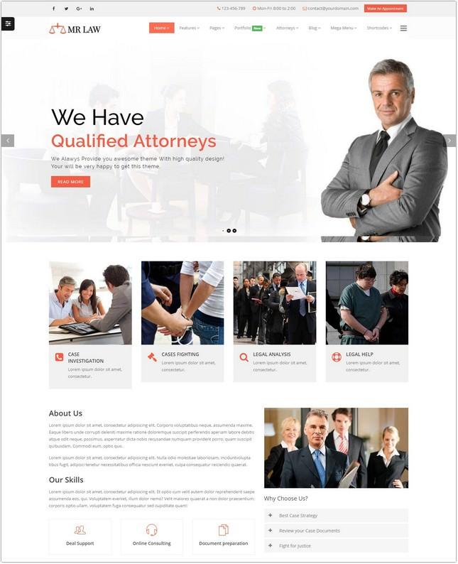 Lawyer Attorney Law Firm