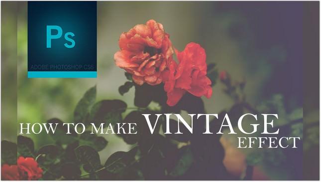 Make Vintage Effect