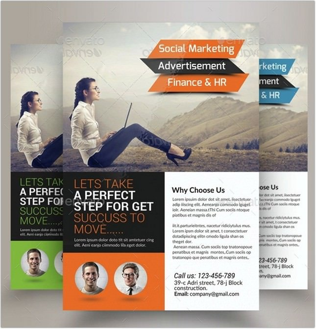 Marketing Consulting Business Flyer # 2