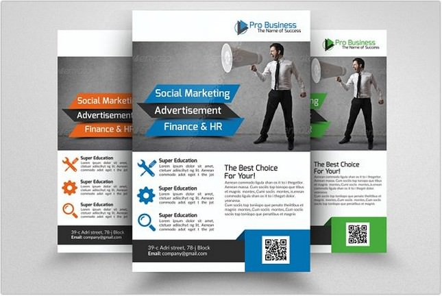 Marketing Consulting Business Flyer # 4