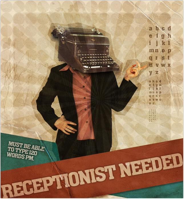 Mock-Retro Poster Concept