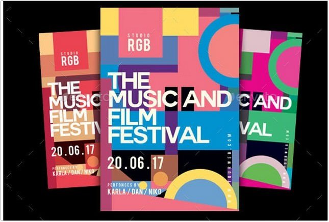 Music And Film Festival Flyer
