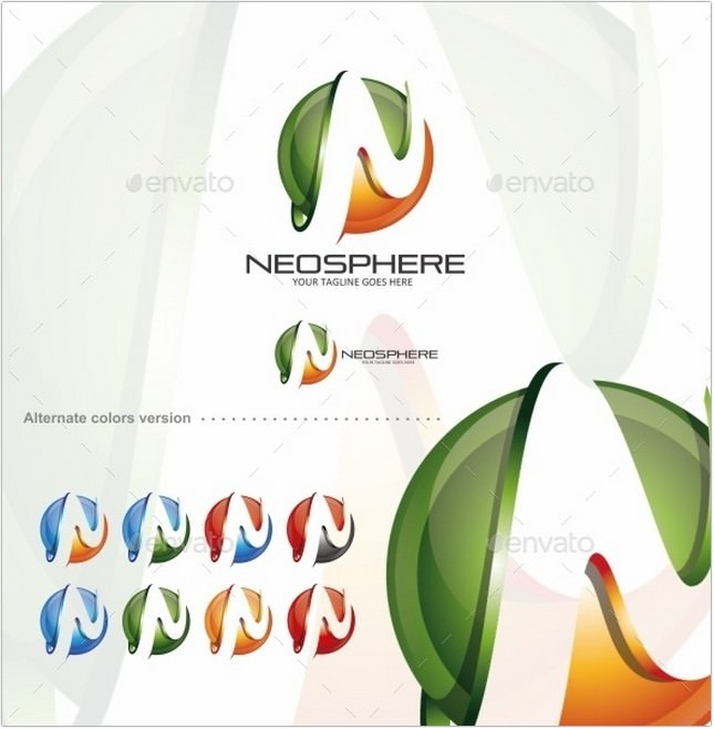 Neosphere Logo Template