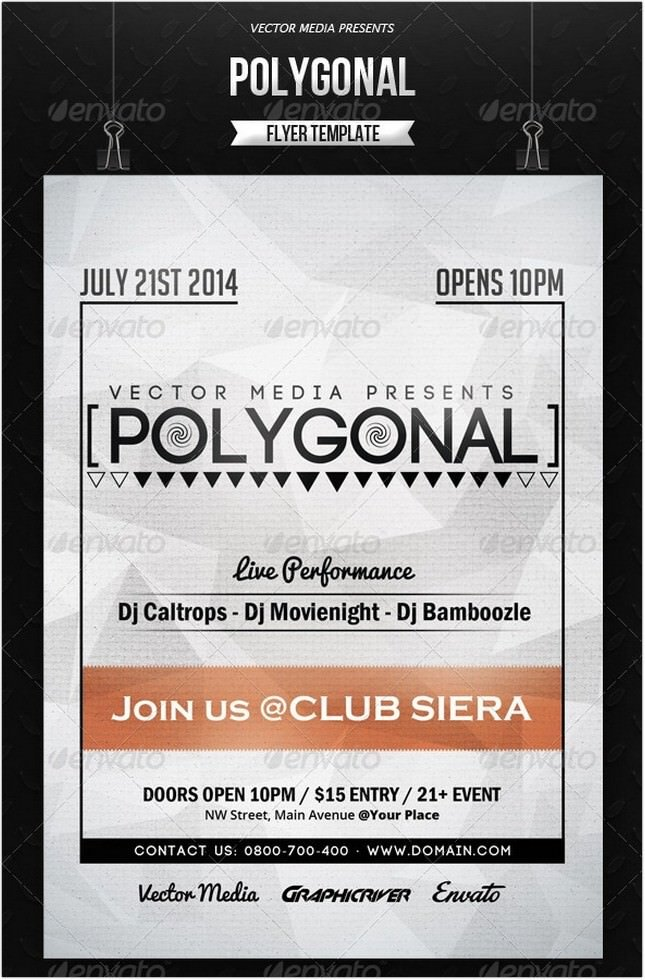 Polygonal - Flyer