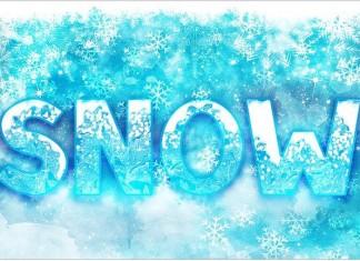 SNOW - Font Family