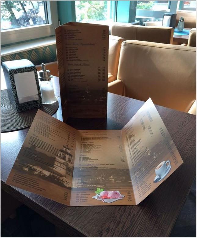 The New Menu Cards For Cafe Kiz Kulesi (Free)