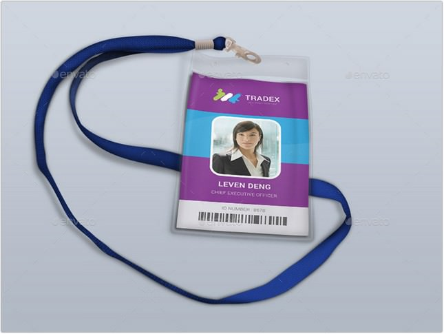 Tradex Business Office ID Card