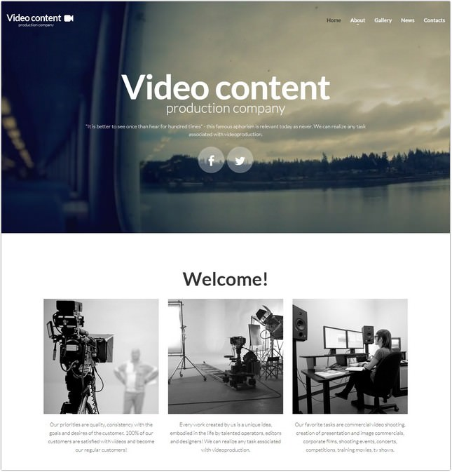 Video Lab Responsive PHP Template