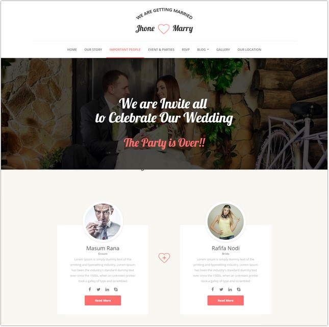 Wedding Day - Wedding Template