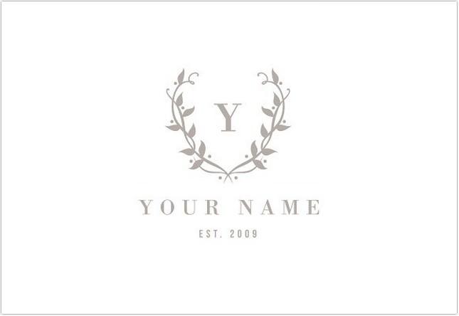 Wedding Photographer Logo Design