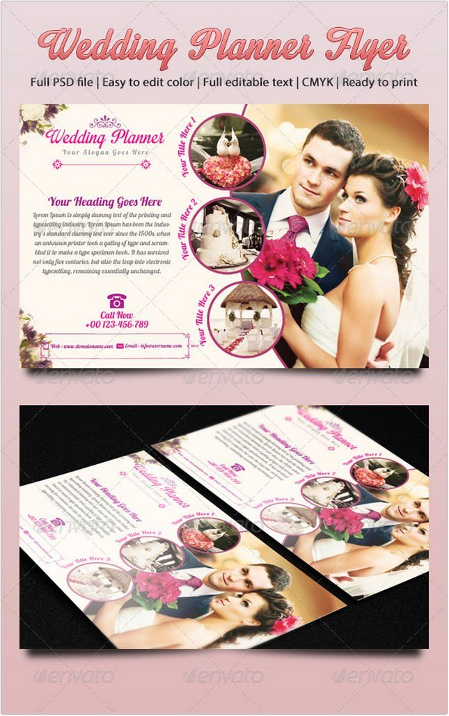 Wedding Planner Flyer # 2