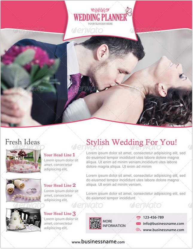 Wedding Planner Flyer # 3
