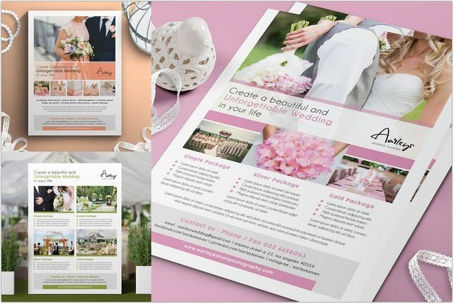 Wedding Planner Flyer # 4