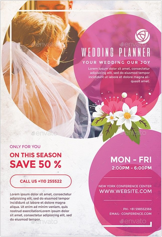 Wedding Planner Flyer # 5
