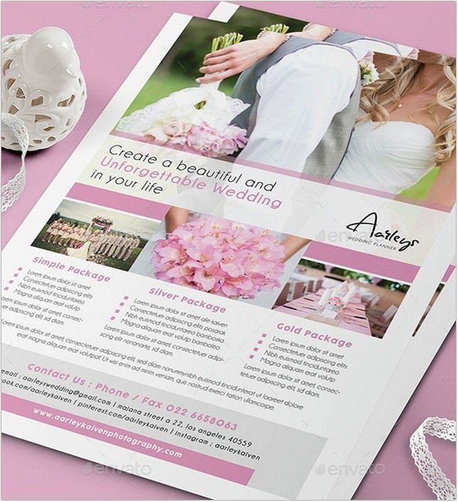 Wedding Planner Flyer # 6