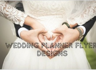 Wedding Planner Flyer Template & Designs