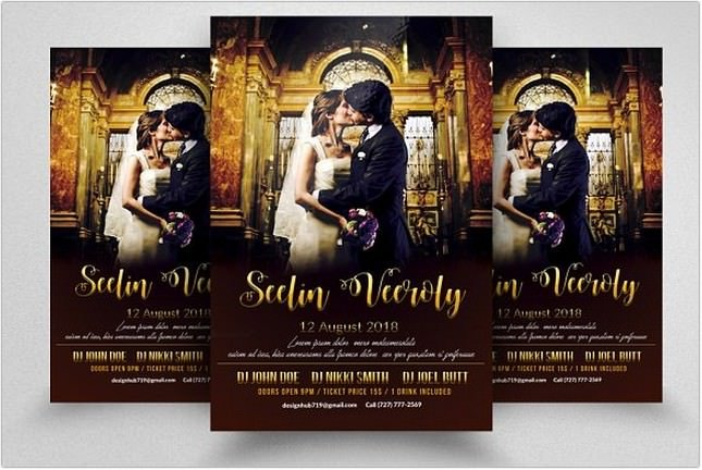 Wedding Planner Flyer Templates