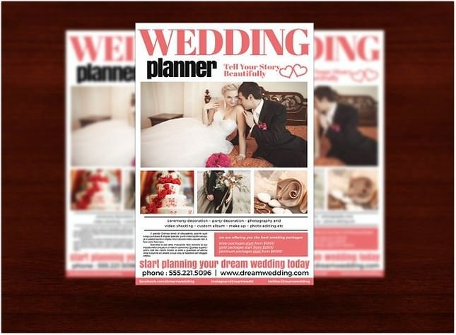Wedding Planner Flyer