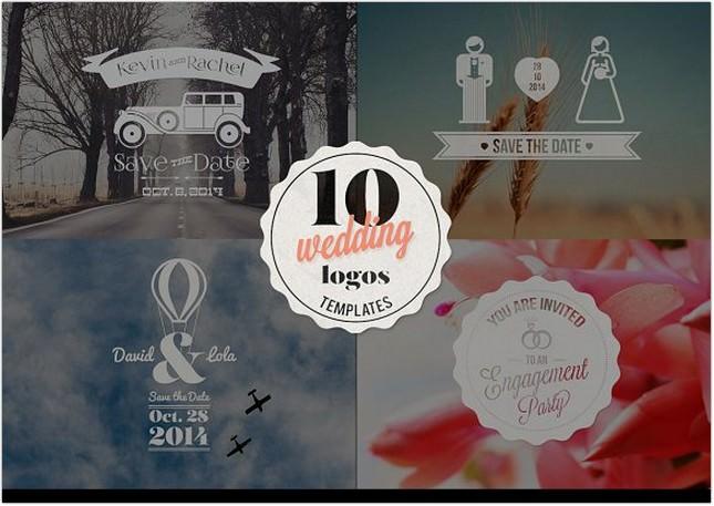 Wedding logos Templates