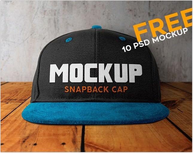 10 hat Mockup