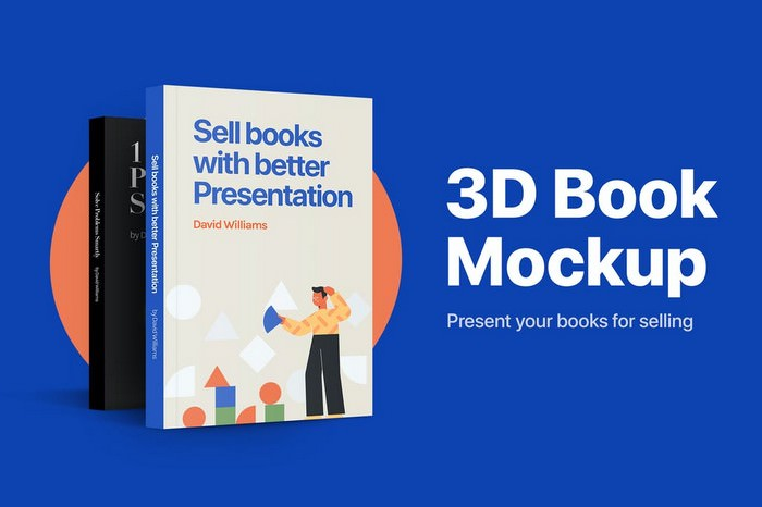 3D Book Mockup