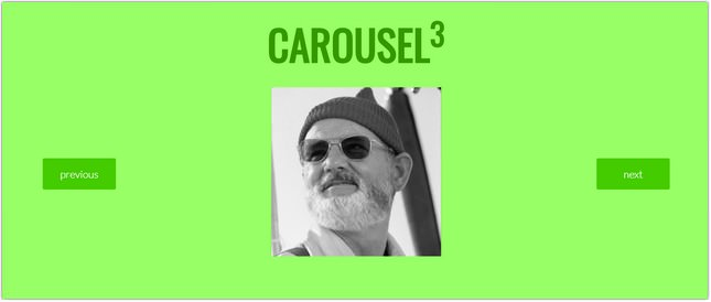 3D Cube Carousel css