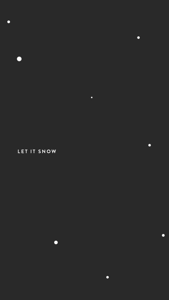1080 × 1920 Snow Aesthetic iPhone Wallpapers