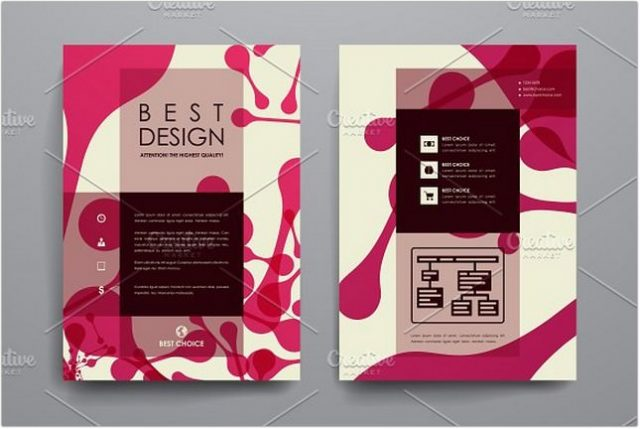 Abstract Brochures template