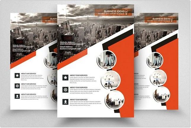 Accounting Flyer template
