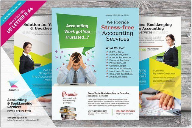 Accounting Services Flyers