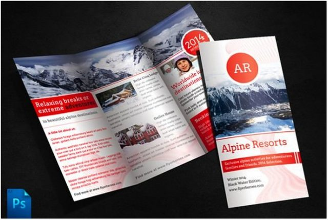 Alpine Travel Brochure