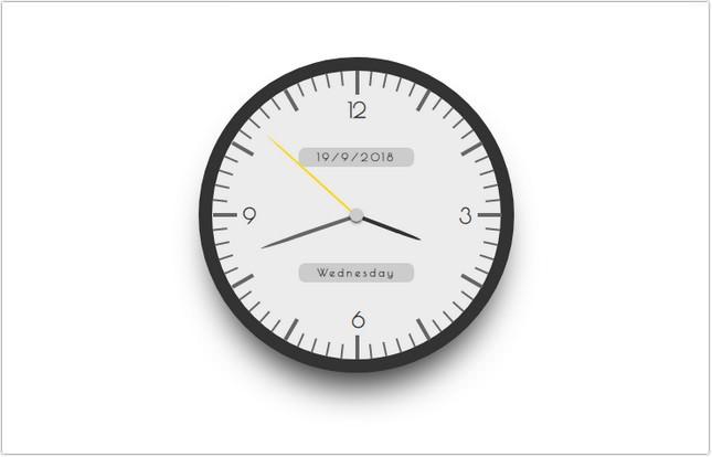 Analog Clock 2 css