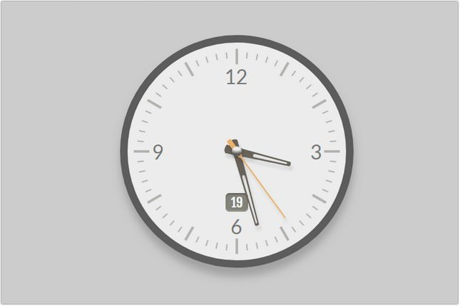 Analog Clock Jquery