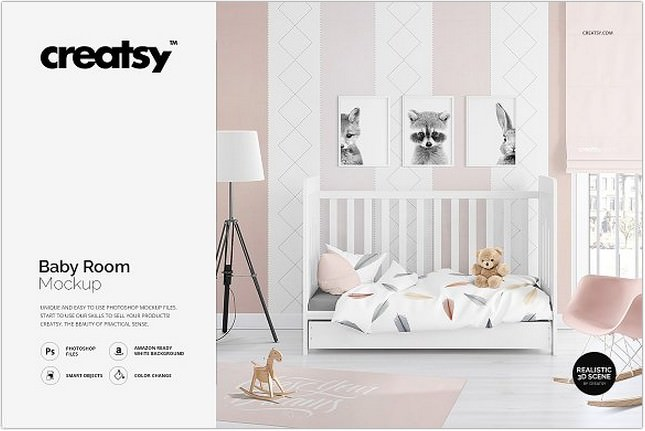 25+ Best Room Mockups To Showcase Your Work - Templatefor