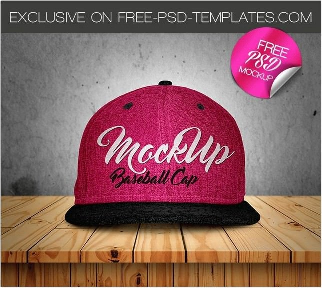 Basball Cap Mock-UP