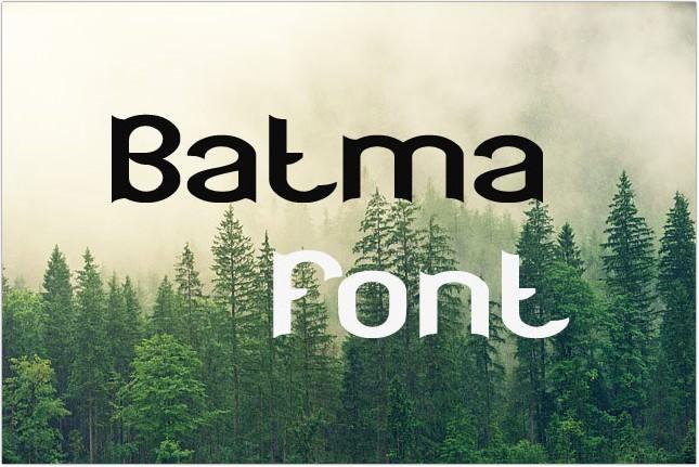 Batman Font