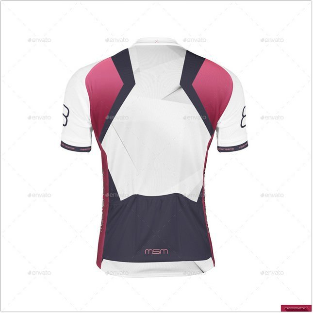 Bike Jersey Mock-up