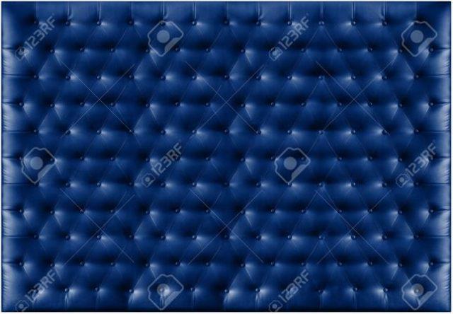 Blue Capitone Textile Backgrounds