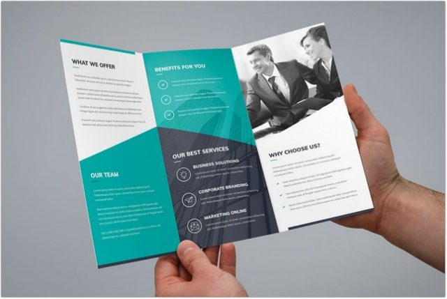 Brochure Corporate Tri-Fold template